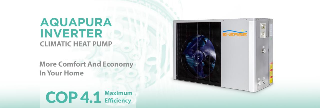 Aquapura Inverter heat pump